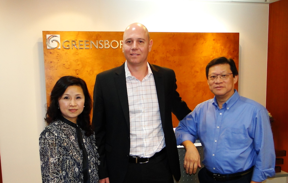 Visit by Mr Albert Nel, VP of Sales, Asia Pacific of OpenText